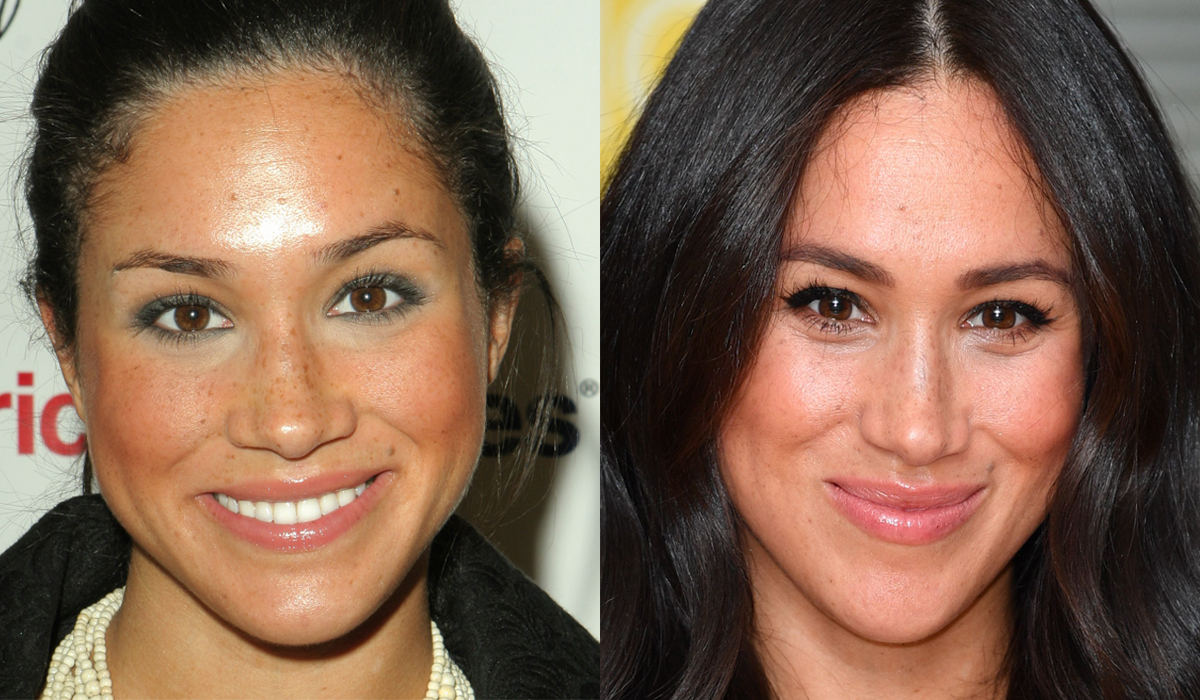 Meghan Markle Brow Transformation