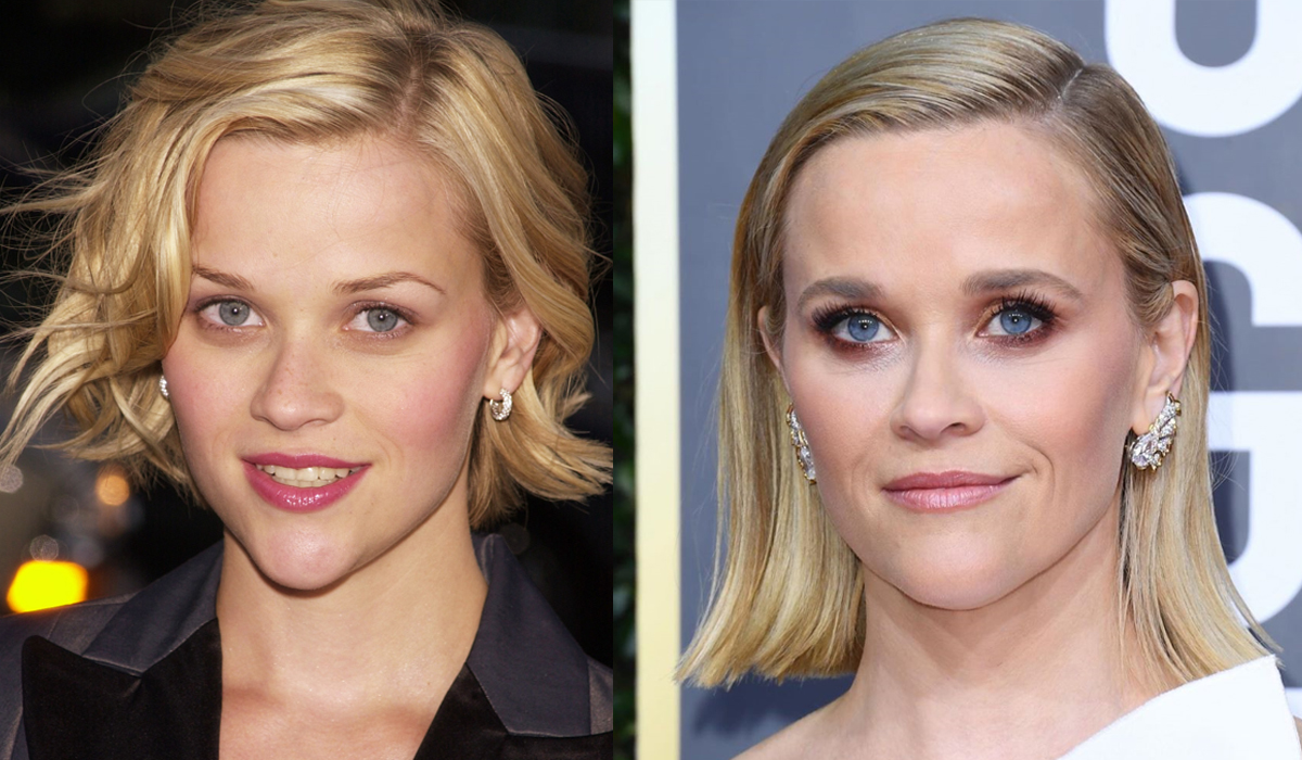 Reese Witerspoon brow transformation